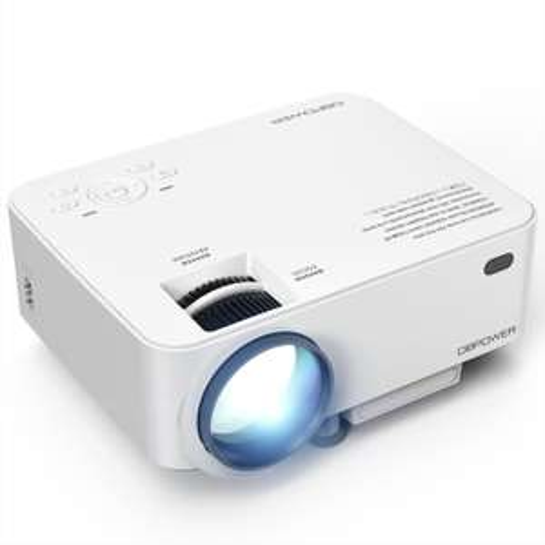 DBPOWER T20 HD Mini Beamer, Projektor, LED
