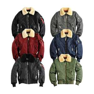 "Alpha Industries ""Injector III"" Bomberjacke (Sagegreen!)"