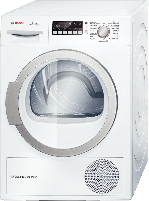 [ao.de] Bosch WTW86271 Wärmepumpentrockner / A++ / 8 kg / Weiß / Selbstreinigender Kondensator [Energieklasse A++]