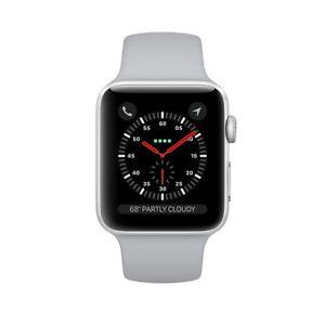 Apple Watch Series 3 42mm schwarz GPS