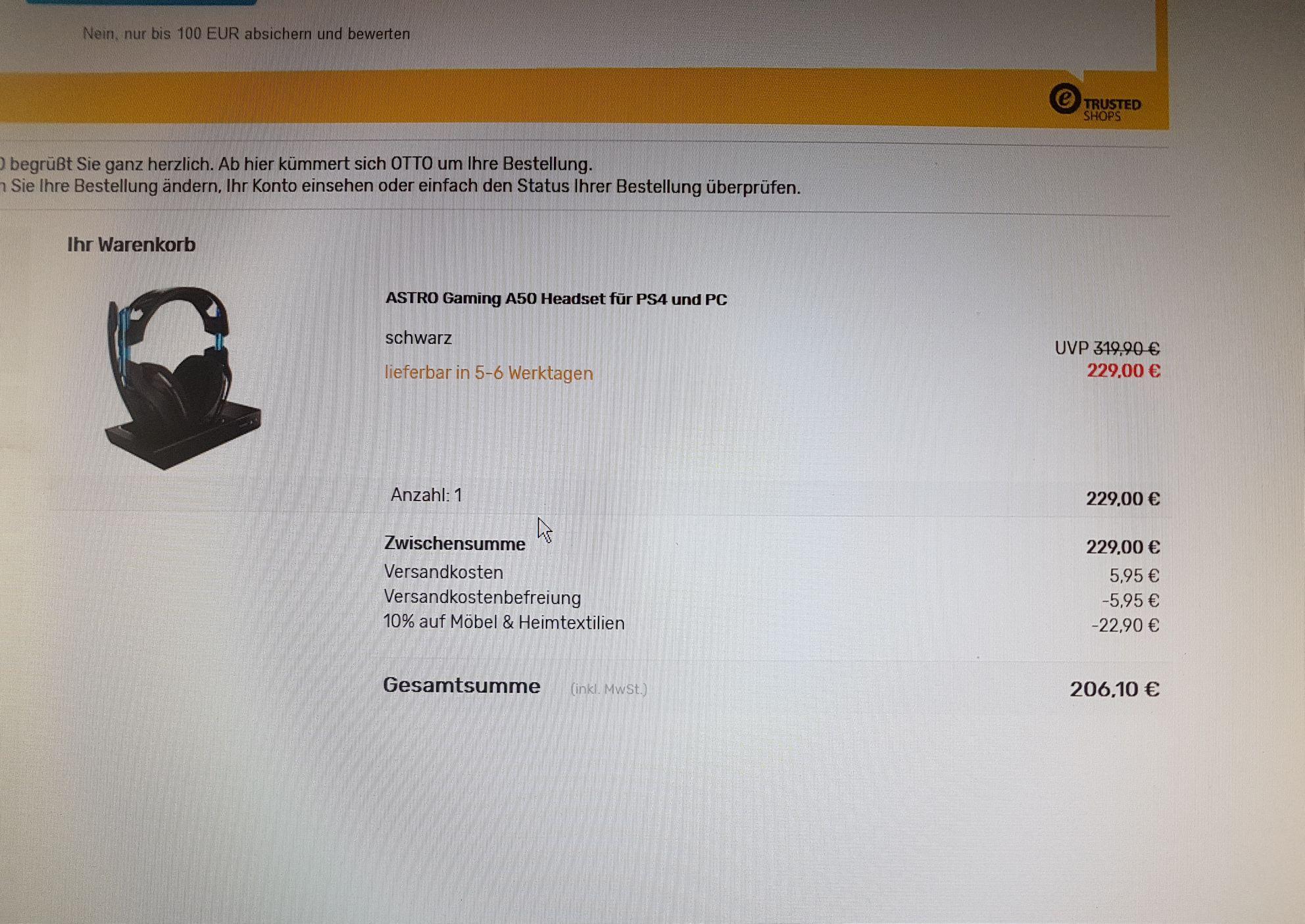 Astro A50 Headset für PS4, xbox - Kopfhörer