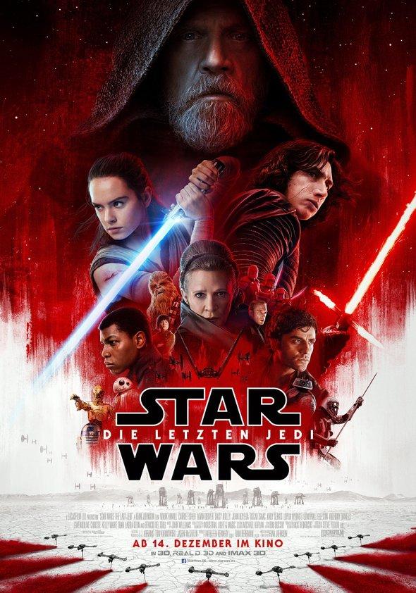 (Lokal Augsburg, Sparkasse-Kunden) 2 Gratis-Tickets für Star Wars Episode 8 am 20.12. im Cinemaxx