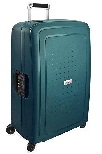 Samsonite S'Cure DLX Spinner 75 cmmetallic green für 148 Euro bei Amazon.de
