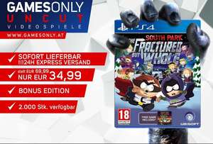 South Park -The Fractured But Whole PS4 dazu Teil 1 gratis als Download  (EU uncut)