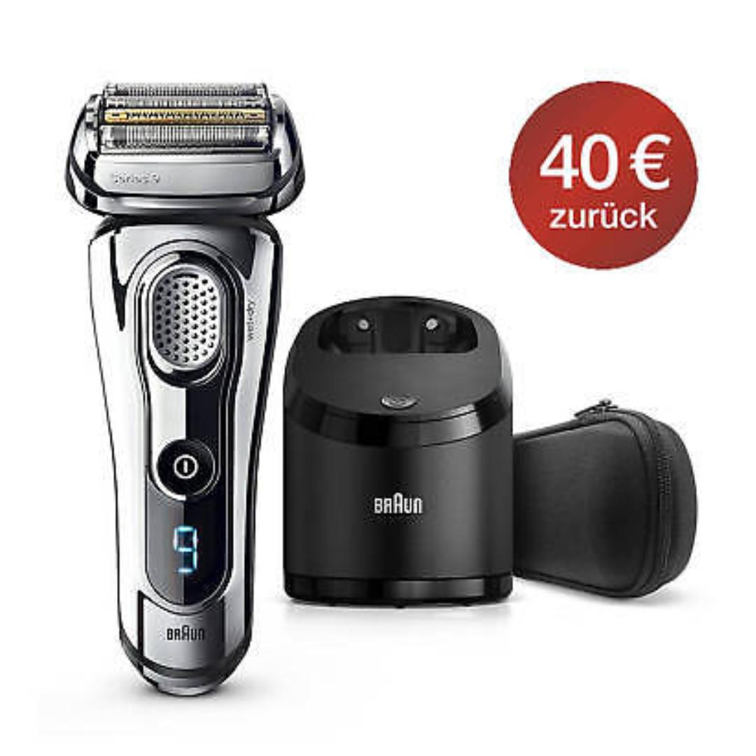Braun Series 9 9295cc incl. Reinigungsstation  - mit eBay Plus 20€-Gutschein & Cashback Endpreis 139,99€ möglich