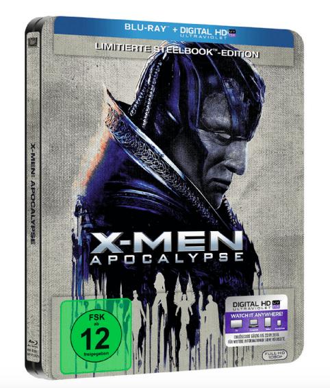 X-Men Apocalypse - Steelbook (Blu-ray) für 9€ bei Media Markt