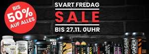 [Black Friday] Bis 50% auf alles bei be:yourself nutrition - Sportnahrung, Vitamine etc.