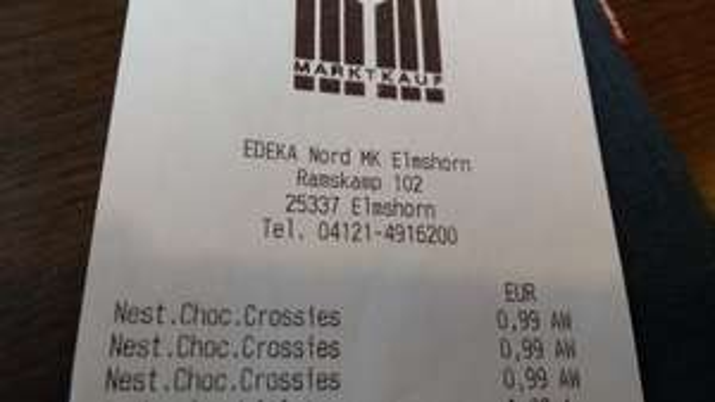 Nestlé Choco Crossies Lokal Marktkauf Elmshorn