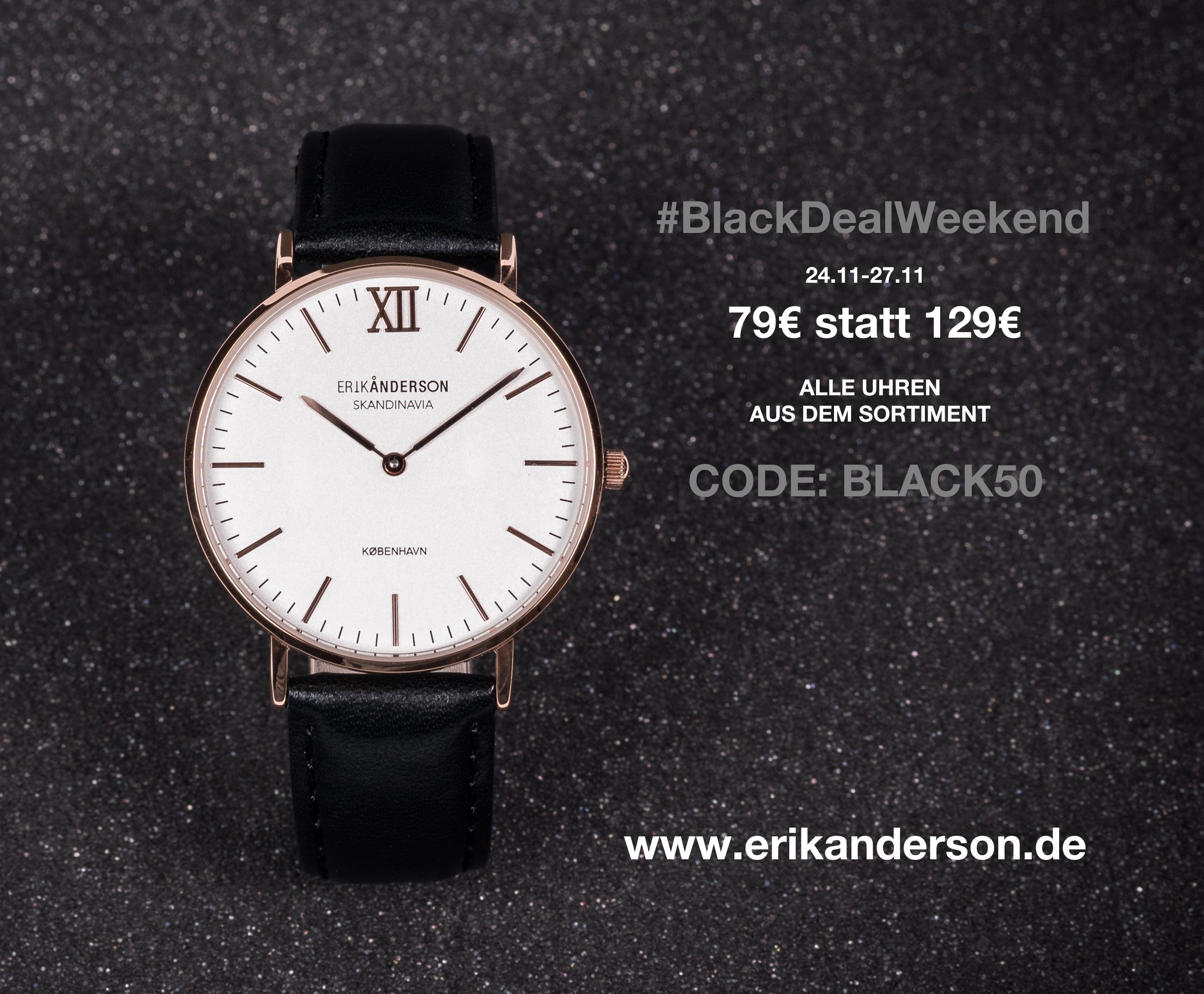 Erik Anderson: Schlichte Damenuhr für 79€