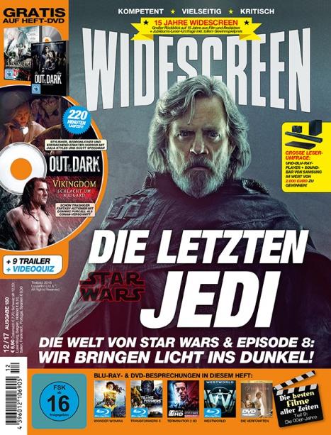 Miniabo des Widescreen Magazin. 3 Ausgaben für 13,90 Euro + 10€ Amazon Gutschein
