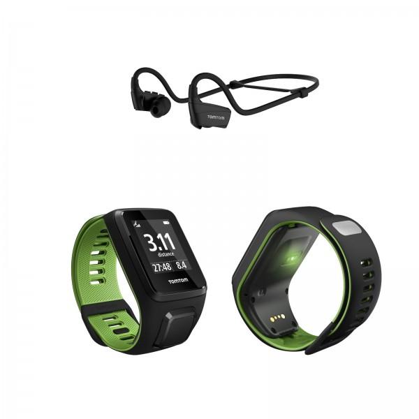 TomTom Runner 3 Cardio+Music zggl Bluetooth Köpfhörer für nur 189,05