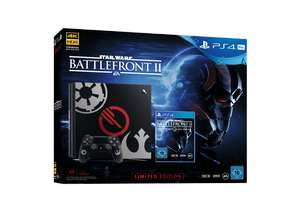 Einige PlayStation 4 Pro 1TB Bundles bei Media Markt - z.B. PlayStation 4 Pro 1TB mit Star Wars Battle Front II Limited Edition für 369€ (Idealo 459€)
