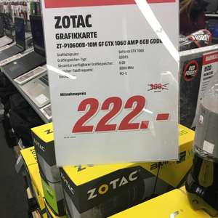 Lokal Berlin mm Wilmersdorfer Zotac Gtx 1060 6GB