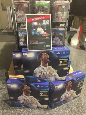 (Lokal Alternate Linden) Sony PlayStation 4 Slim 1 TB + FIFA 18 + 2. Controller
