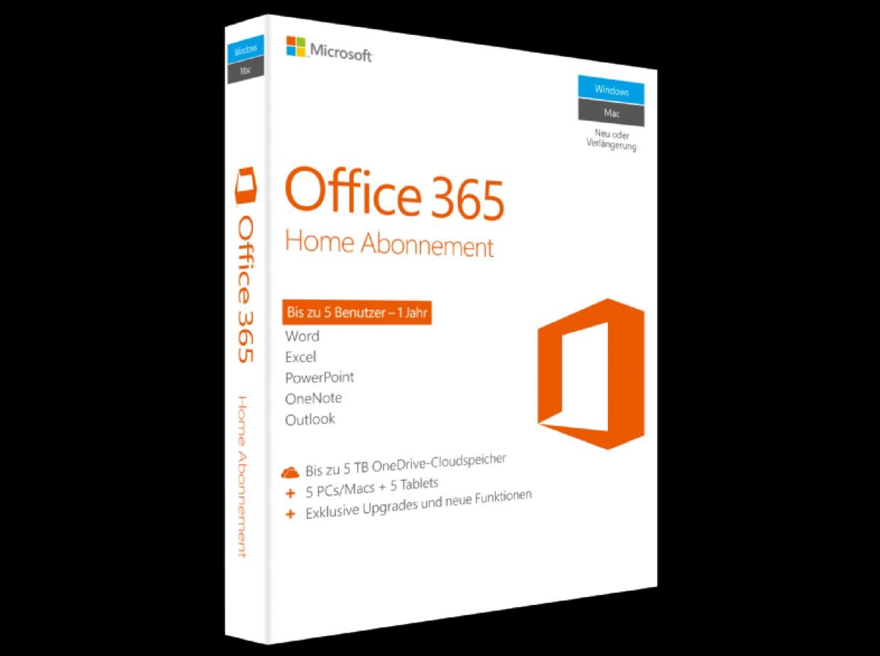 [MediaMarkt online] Microsoft Office 365 Home für 45€