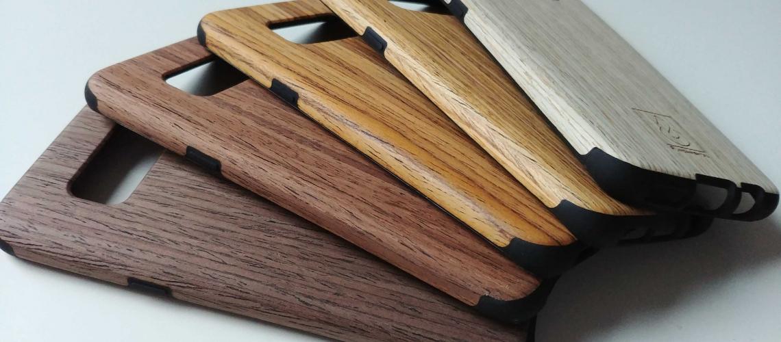 Samsung Galaxy S8 Hülle aus Echtholz