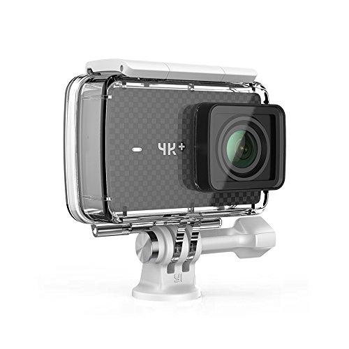 [Amazon Blitzangebote] YI 4K Plus Action Kamera mit YI wasserdichtem Gehäuse + GRATIS Type-C Kabel + GRATIS Ledertui + GRATIS GUV Schutzlinse