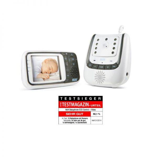"""[DC] Wieder erhältlich! NUK 10256296 – Babyphone Eco Control+ Video """"B-Ware"""" für 84,95€ frei Haus"""