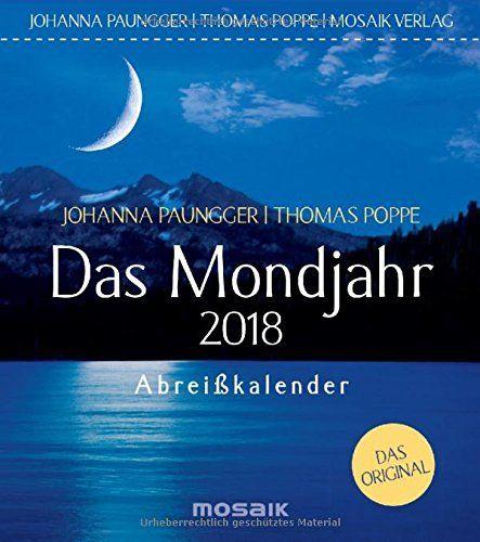 Das Mondjahr 2018 - Abreißkalender