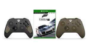 Xbox One S Wireless Controller (Olivgrün Special Edition oder Patrol Tech Special Edition)  + Forza Motorsport 7 für 61,75€ (Microsoft Store PL)