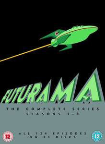 [zavvi] Futurama Season 1-8 (DVD OT) *UPDATE: Aktuell mit BYEBYE nochmal -15 %*