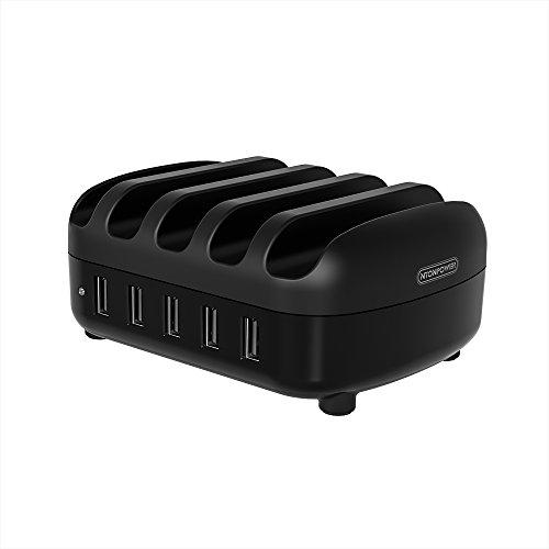 Mini Multi USB Ladestation mit Schalter und 5 Anschlüsse 5 Ports USB(40W 5V/8A)