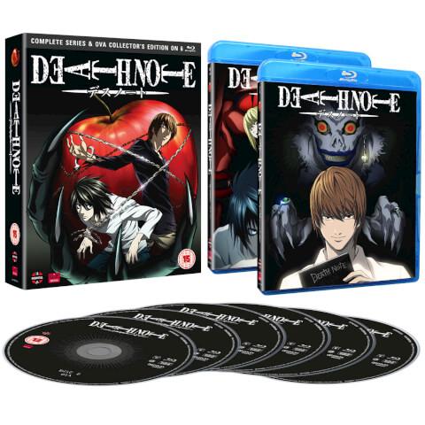 [zavvi] Englische Bluray-Komplettboxen von Death Note (inkl. OVA) für 23,95 € (jetzt 20,36 € mit Gutscheincode!), Fullmetal Alchemist Brotherhood für 34,19 € (jetzt 29,06 € mit Gutscheincode!)