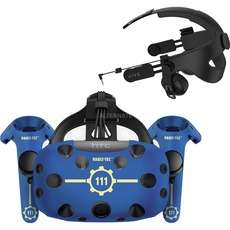 HTC Vive inkl. Deluxe Audio Strap, Fallout VR, Fallout Skin und Doom VR