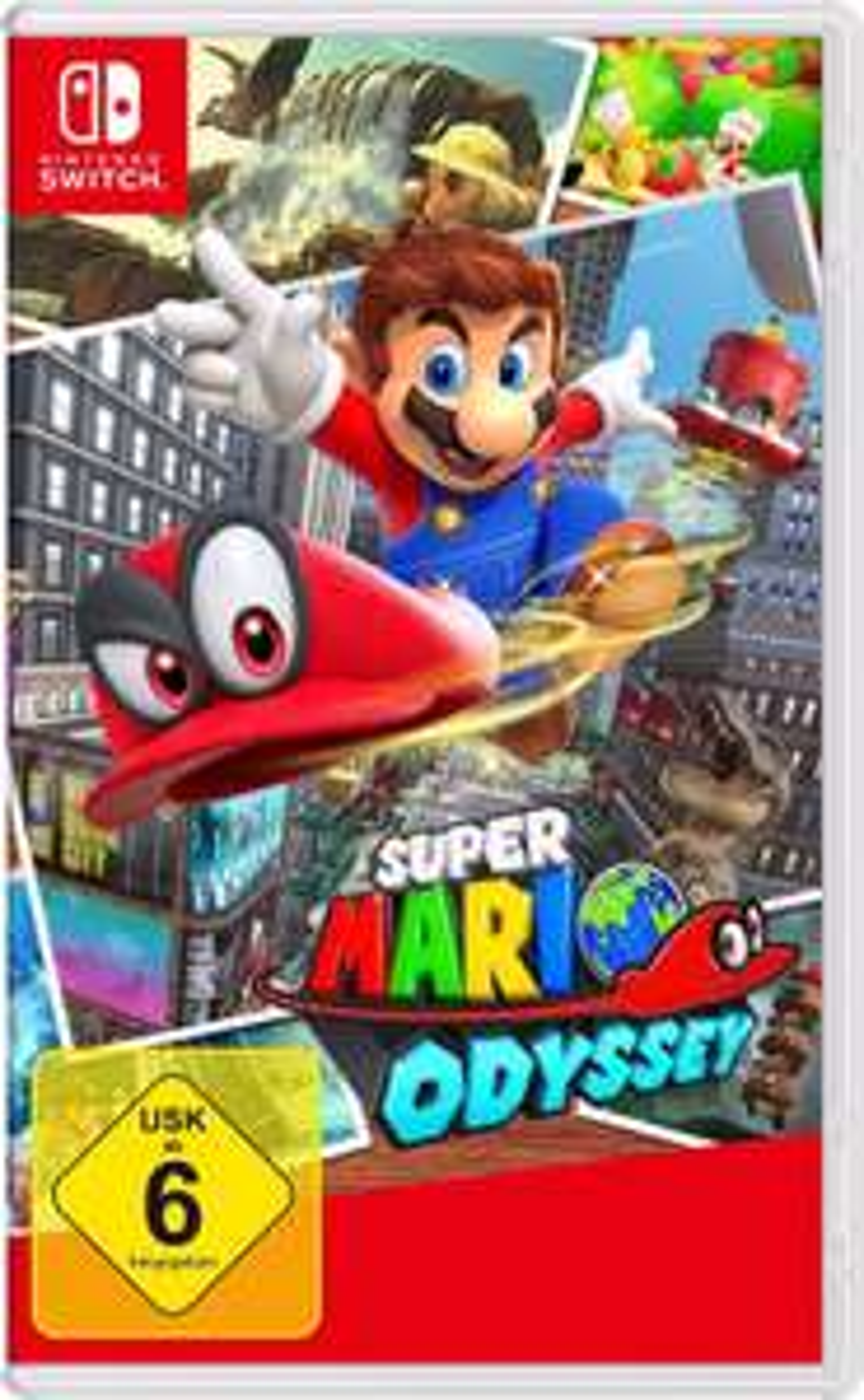 Mario Odyssey (Nintendo Switch) für 35€ bei Ebay Wow (Ebay-Plus Gutschein)