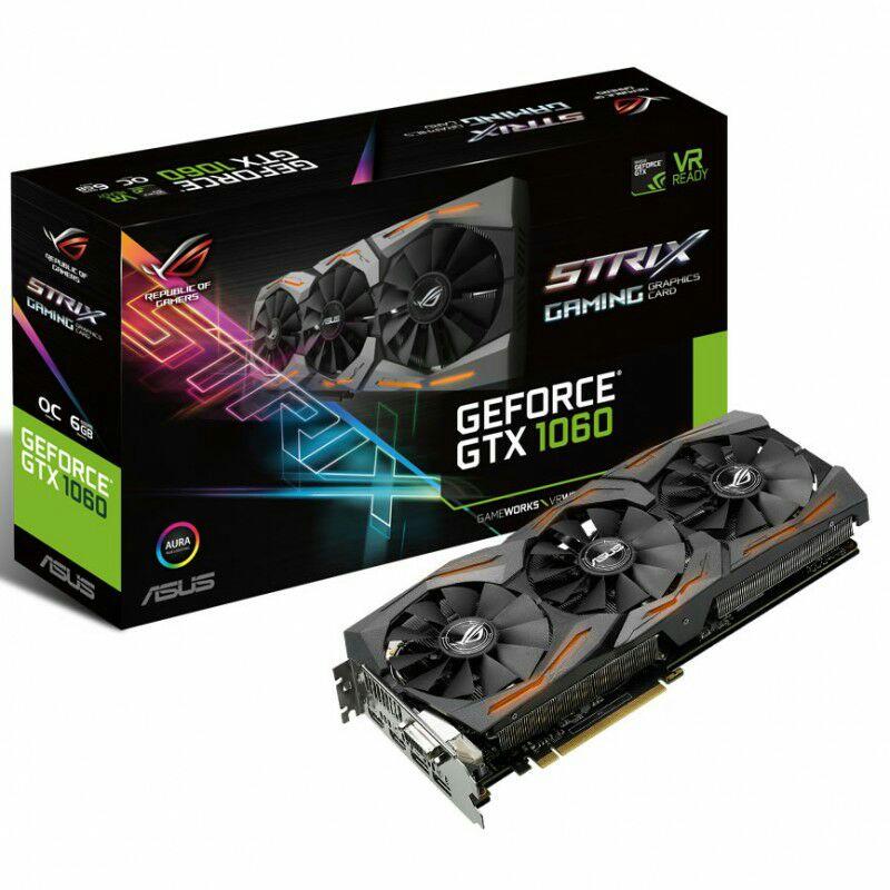[Proshop]ASUS GeForce GTX 1060 O6G Strix