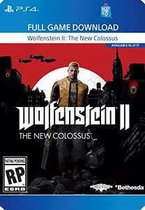 (amazon.com) PS4 :Wolfenstein 2 - The new Colossus - USA- Download Key - uncut