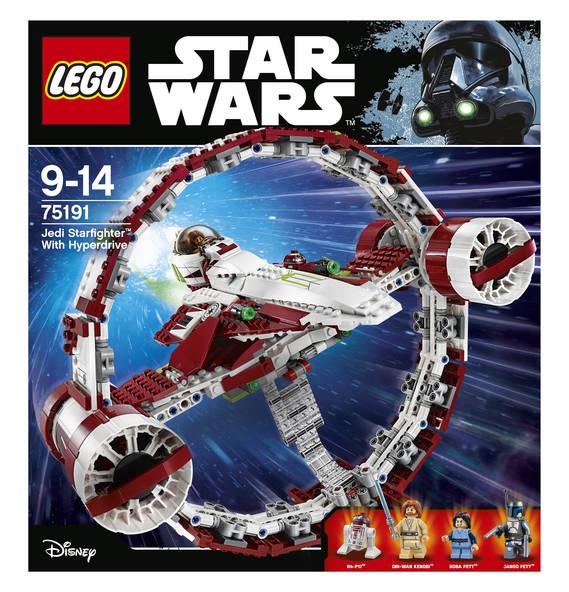 Lego Star Wars - Jedi Star Fighter 75191 für 85€ (statt 100€)