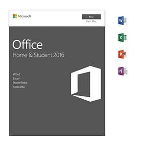 Microsoft Office Home and Student 2016 | Mac | Download - Preis noch reduzierbar [Amazon]