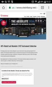 Steinberg : Absolute 3 VST Instrument Collection