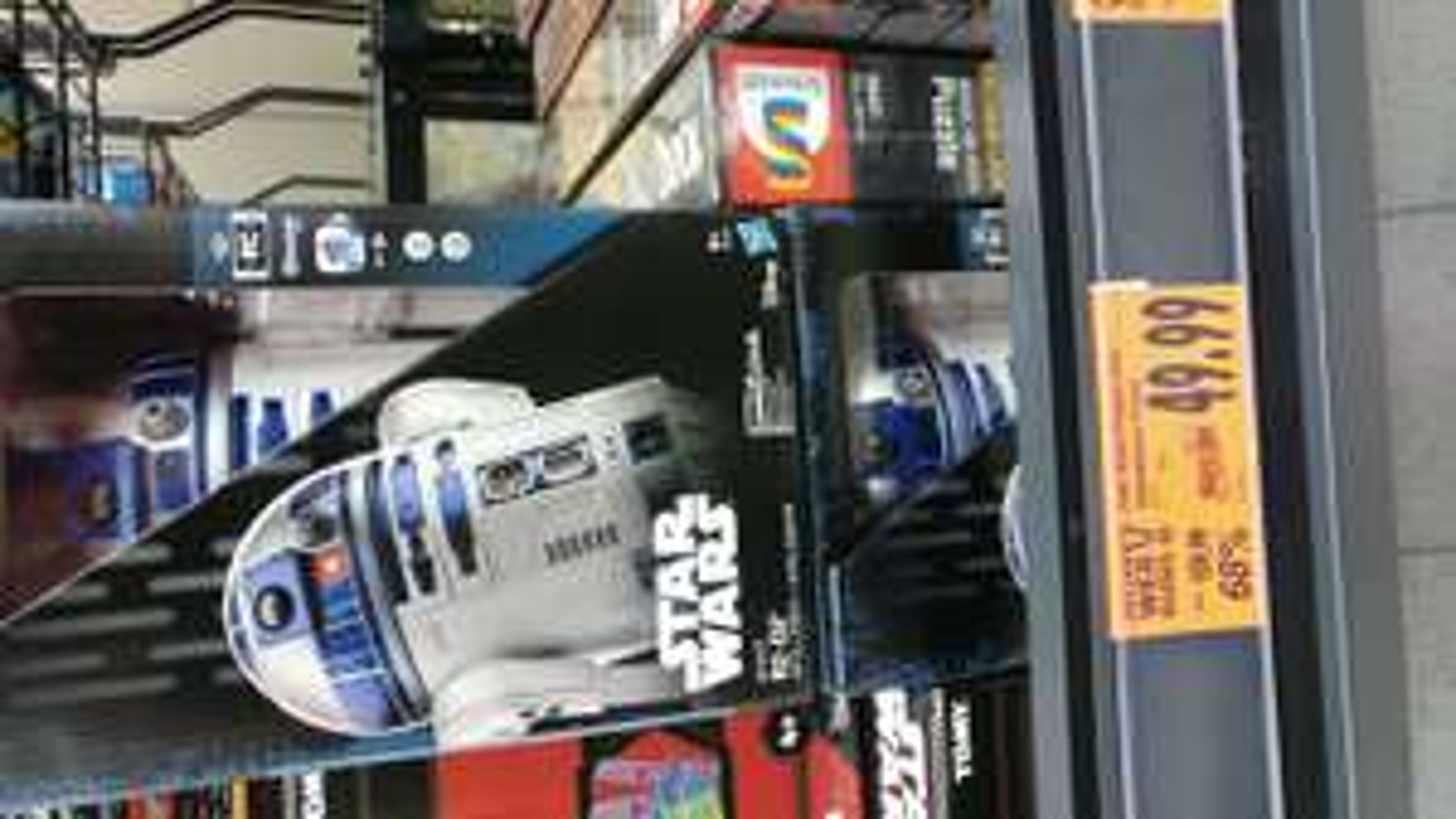 R2-D2 - Ferngesteuerte Star Wars Figur  lokal Kaufland Zwickau