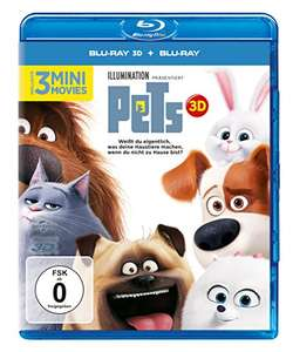 [Amazon Prime] Pets (+ Blu-ray) [Blu-ray 3D]