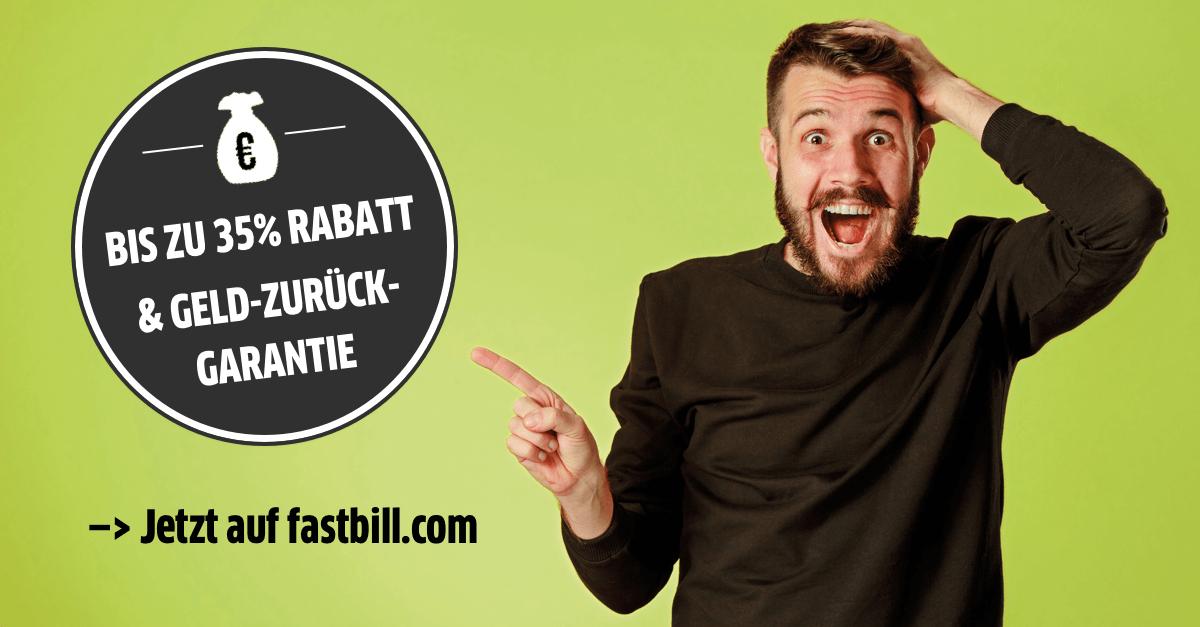 Black FastBill Week - bis zu 35% Rabatt (nur Neukunden)