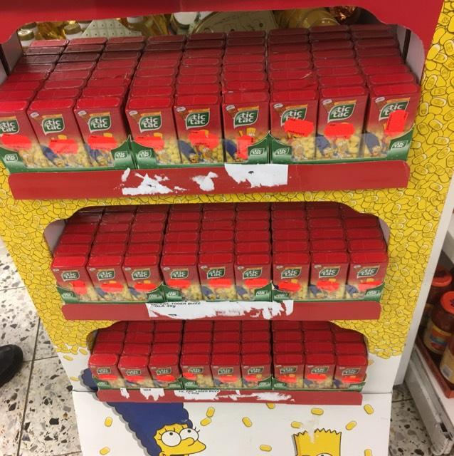 TicTac Simpsons Edition (Lokal in Bi)