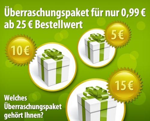 Voelkner Überraschungspaket [5,10,15€ Wert] ab 25€ Warenwert