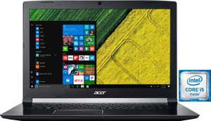 Acer Aspire A717-71G-55GT - GTX1060 (6GB) - i5-7300HQ - 17,3 Zoll - 8GB DDR4 - 1000 GB HDD - 1034,99€ [OTTO.de/NECKERMANN.de]