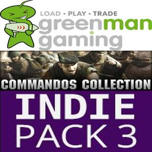 [STEAM] Commandos Pack > 4 + 9 Games im Indie Pack 3 @ GMG