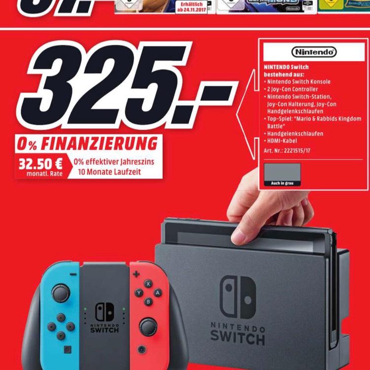 [Lokal Berlin] Nintendo Switch + Mario Rabbids Kingdom bundle
