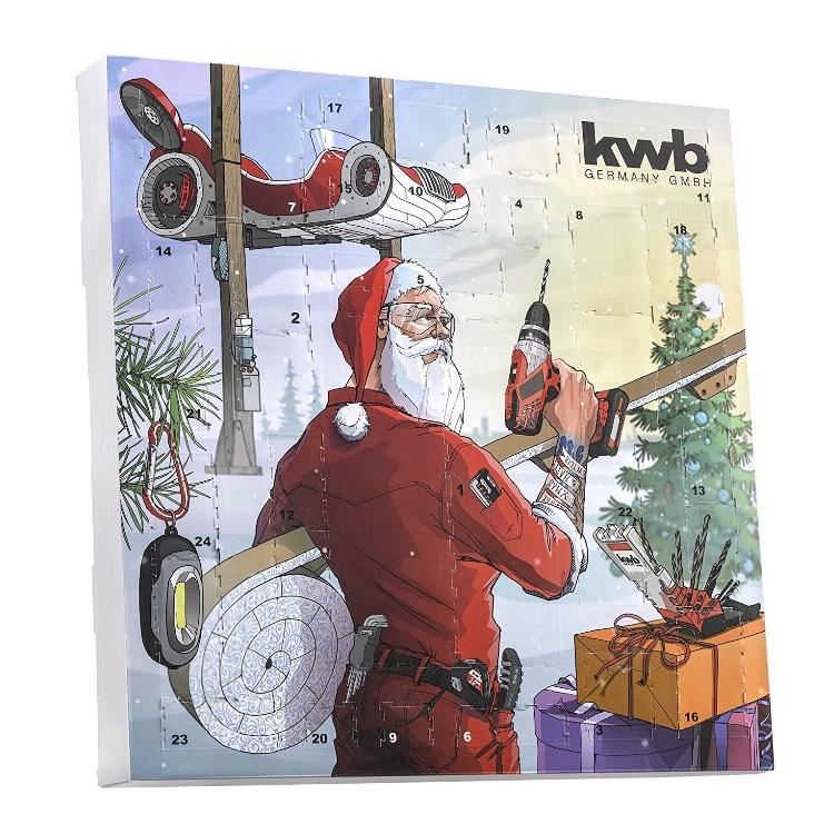 Männerkalender  Werkzeugkalender von KWB
