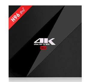 H96 PRO PLUS Amlogic S912 Octa Core 3GB RAM 32GB ROM TV Box