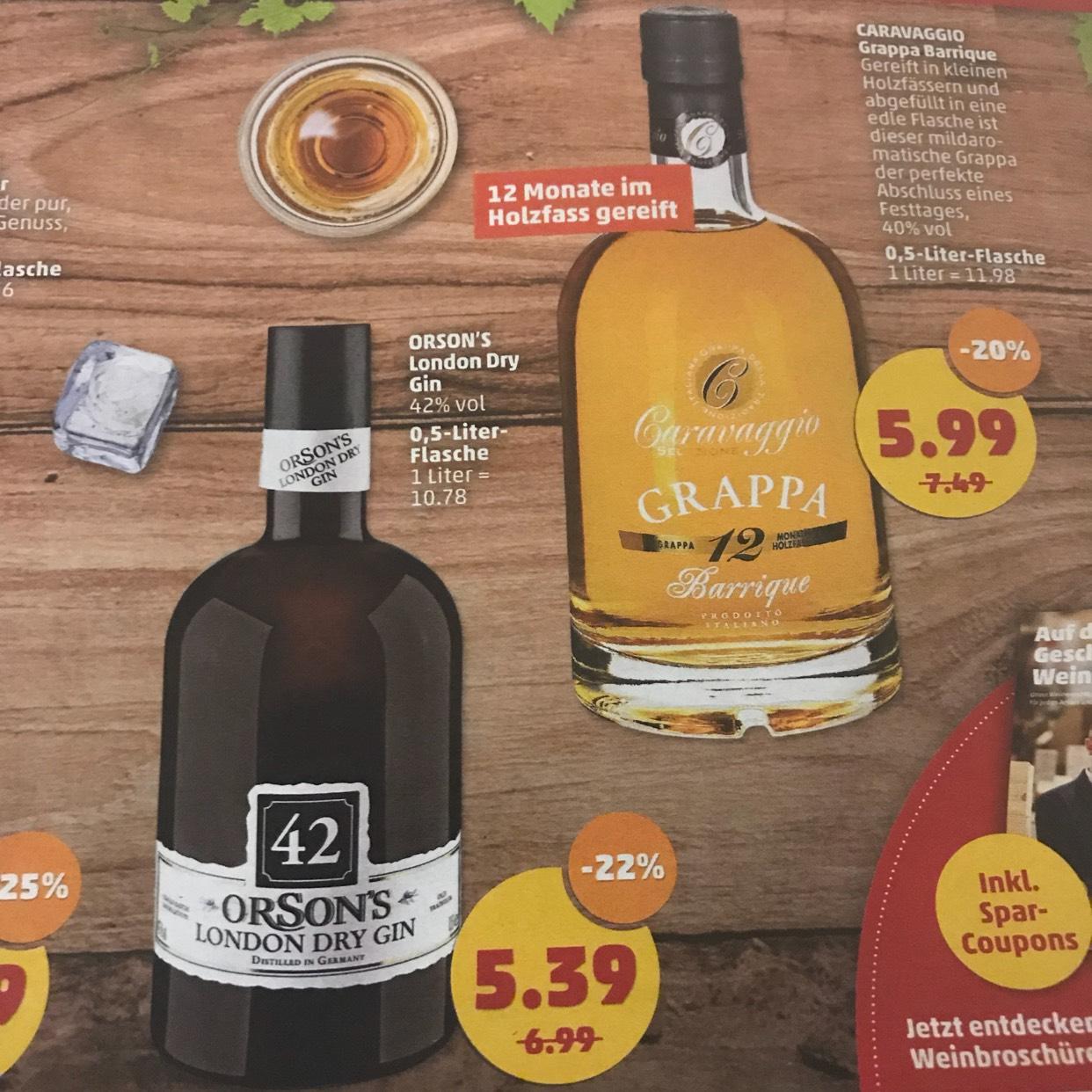 Penny Orsons 42 Gin für 5,39€ ab 27.11.17