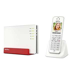 AVM FRITZ!Box 7580 WLAN AC + N Router (VDSL-/ADSL-/ADSL2+-Modem, DECT-Basis, Media Server) + AVM FRITZ!Fon C4 Telefon 249€ (Amazon)