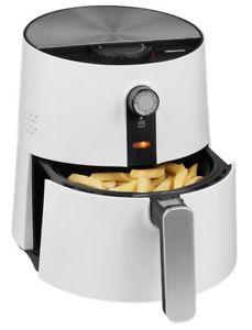[eBay Plus] MEDION MD 17769 Heißluftfritteuse / 1400 Watt / ölfreies Frittieren / Temperaturkontrolle bis 200°C / Cool-Touch-Griff / weiß