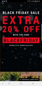 Black Friday Deals 20% auf alles
