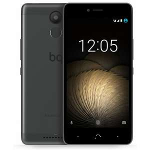 "BQ Aquaris U Plus 32GB 3GB RAM #BlackFriday [Notebooksbilliger.de] Schwarz/Anthrazit [12,7cm (5"") HD-Display, Android 7.1, 1,4 GHz Octa-Core CPU, 16MP Kamera] Smartphone"