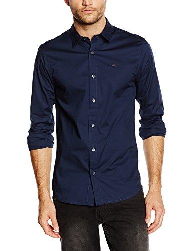 Hilfiger Denim Herren Slim Fit Hemd - Blau (S,L), Weiss (S) [Amazon]